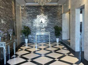 balghonaim business center interior lobby